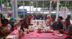 Huis der Letteren - Poëtische ontmoeting, juni 2017